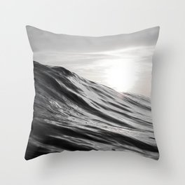 Motion of Water Throw Pillow