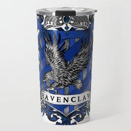 Ravenclaw Color Crest Travel Mug