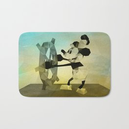 Mickey Mouse as Steamboat Willie Bath Mat