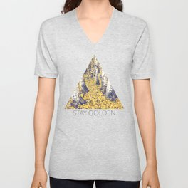 Golden Floor Unisex V-Neck