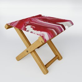 Lady in red Folding Stool