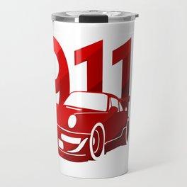 Porsche 911 - classic red - Travel Mug