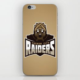 Tusken City Raiders - Tan iPhone Skin