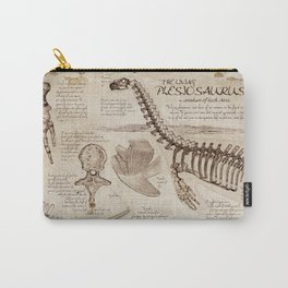 "Loch Ness Monster: ""The Living Plesiosaurus"" - The lost notebook account Carry-All Pouch"