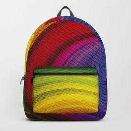 Twister rainbow Backpack