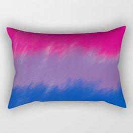 Bi Pride Flag Rectangular Pillow