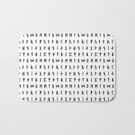 Nordic Runes Bath Mat