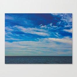The Blue Summer Sky Canvas Print