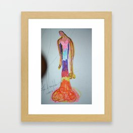 Expression of Kindness Framed Art Print