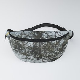 Pine tree trunk and branch Fanny Pack