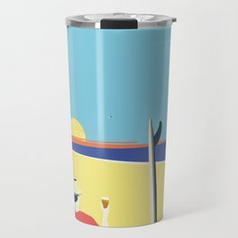 Beach Bum Travel Mug