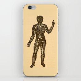 Circulatory system. iPhone Skin
