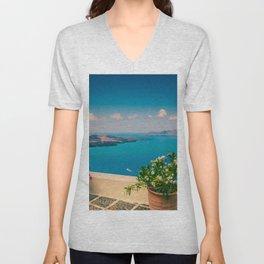 Santorini i Unisex V-Neck