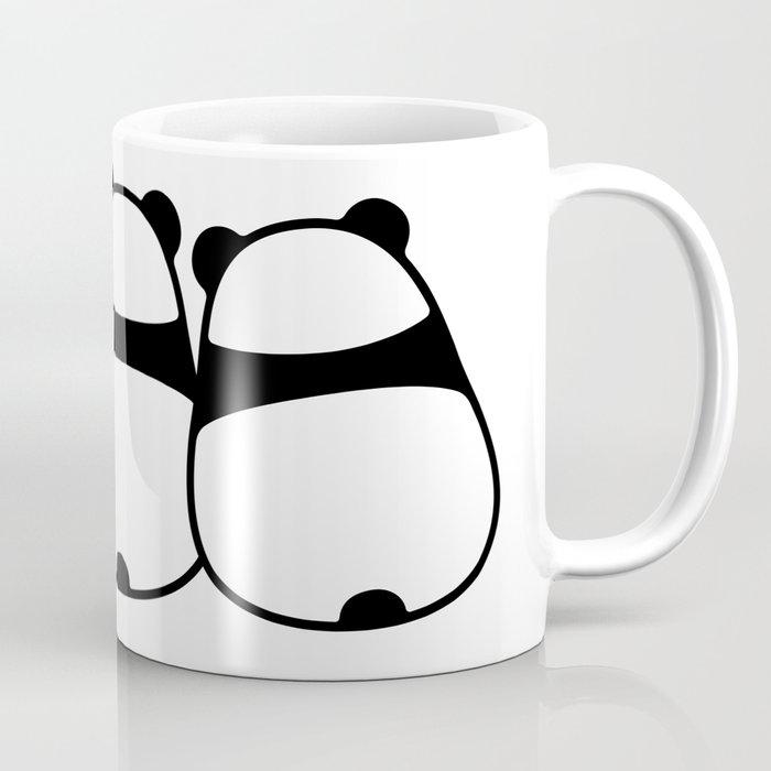 cute cartoon panda couple coffee mug by irmirx society6
