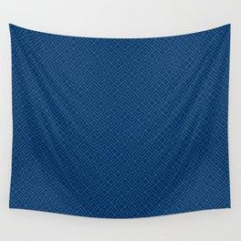 10 Print: Thin Blue Wall Tapestry