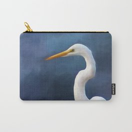 Painted Egret Carry-All Pouch