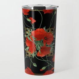 Poppy Stravaganza Travel Mug