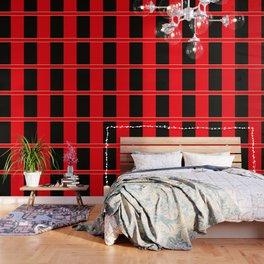 Team Colors 6...red,black,white Wallpaper