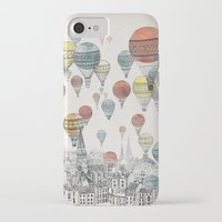 believe iPhone & iPod Cases featuring Voyages over Edinburgh by David Fleck