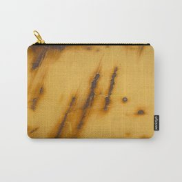 Yellow Rust Steel Carry-All Pouch