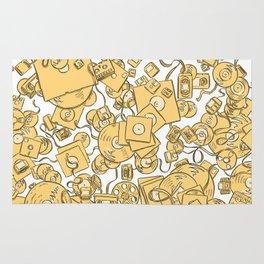 Technology! - Yellow Rug