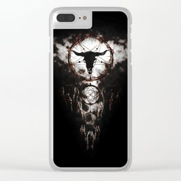 Dreamcatcher - Pentagram Clear iPhone Case