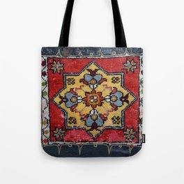 Antique Carpet Sadle Bag Tote Bag