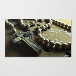 Blood Rosary Canvas Print