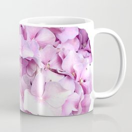 Nantucket Pink Hydrangea Flower Coffee Mug