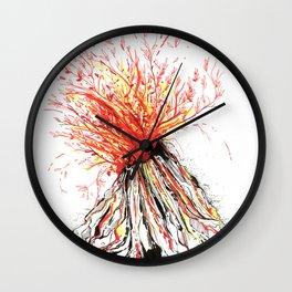 Self Destruction Wall Clock