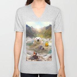 Bear Necessities Unisex V-Neck