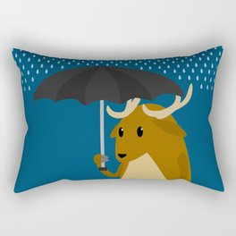 Rain-Deer Rectangular Pillow
