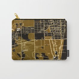 Fort Lauderdale old map year 1949, united states old maps Carry-All Pouch