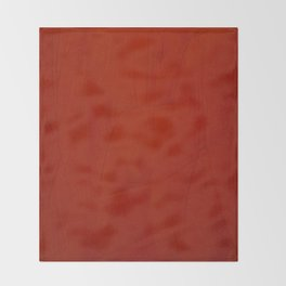 Italian Style Red Stucco Throw Blanket