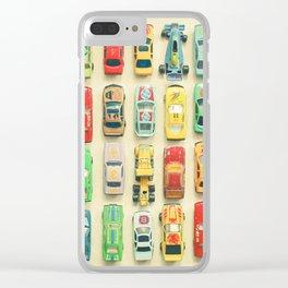Car Park Clear iPhone Case