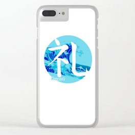 Rei - Respect Clear iPhone Case