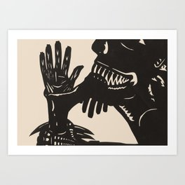 Feast On Their Flesh Art Print
