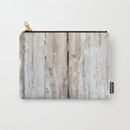Old wooden fence texture Carry-All Pouch