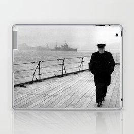 Winston Churchill At Sea Laptop & iPad Skin