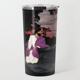 Christ and the Woman of Samaria by Horace Pippin Travel Mug