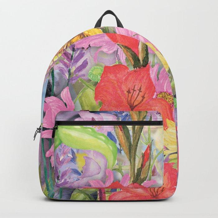 Macro Flowers #22 Backpack