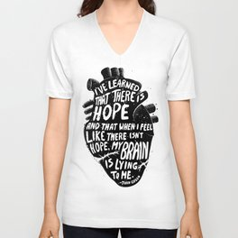 There is Hope Unisex V-Neck