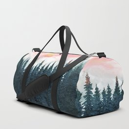 Forest Under the Sunset Duffle Bag