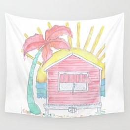 Beach Shack Vibes Wall Tapestry