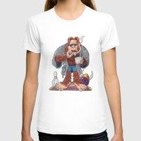bigfoot T-shirts featuring Bigfoot Lebowski by Eli Wolff