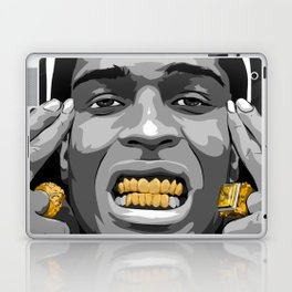 ASAP ROCKY Gold/GRILLz ! Laptop & iPad Skin