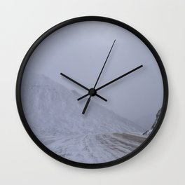 Atigun Pass Wall Clock