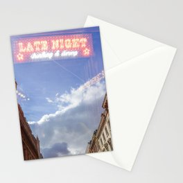 Night Shop Stationery Cards