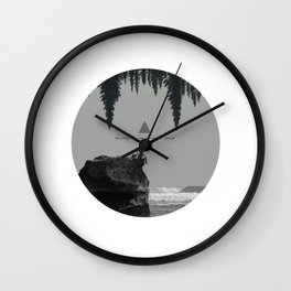 Welcome to the opposite world Wall Clock