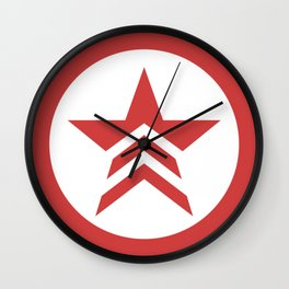Mass Effect Renegade Logo Wall Clock
